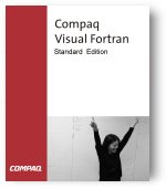 How to install Compaq Visual Fortran under Windows 10